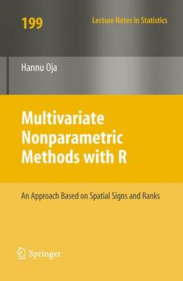 Multivariate Nonparametric Methods with R: An approach based on spatial signs and ranks