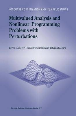 Multivalued Analysis and Nonlinear Programming Problems with Perturbations
