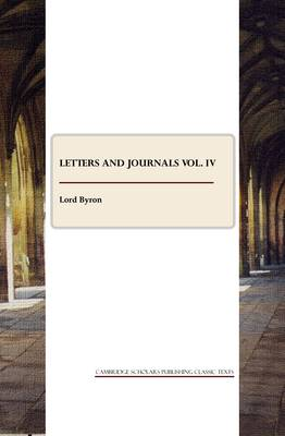 Letters and Journals: v. 4