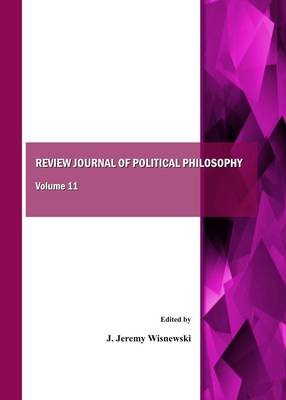 Review Journal of Political Philosophy: Volume 11