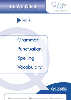 Quickstep English Test A Learner Stage