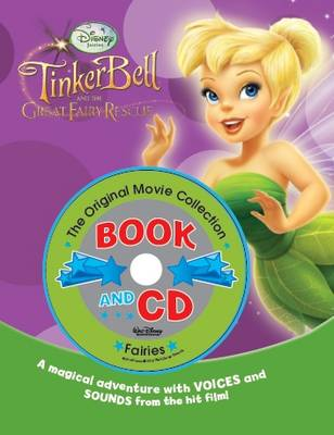 Disney Book and CD: Tinker Bell 2