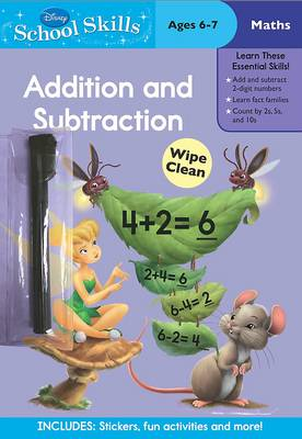 Disney School Skills: Fairies Addition and Subtraction