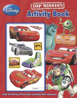 Disney Pixar Top Mission Activity Book with Stickers