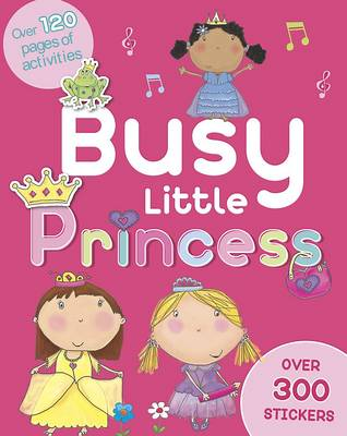 Busy Little Princess Activity Book
