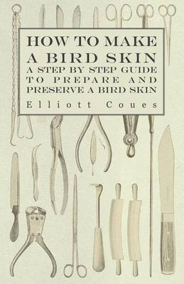 How to Make a Bird Skin - A Step by Step Guide to Prepare and Preserve a Bird Skin