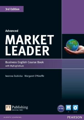 Market Leader 3rd Edition Advanced Coursebook with DVD-ROM and MyEnglishLab Access Code Pack