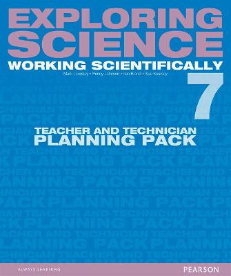 Exploring Science: Working Scientifically Teacher & Technician Planning Pack Year 7