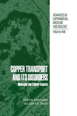 Copper Transport and Its Disorders: Molecular and Cellular Aspects