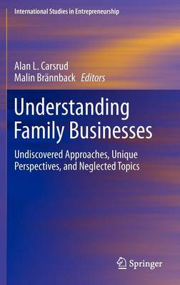 Understanding Family Businesses: Undiscovered Approaches, Unique Perspectives, and Neglected Topics