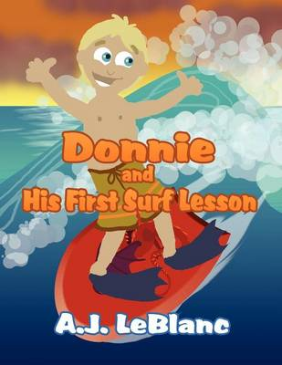 Donnie and His First Surf Lesson
