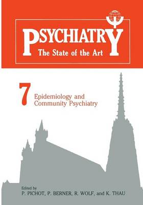 Epidemiology and Community Psychiatry