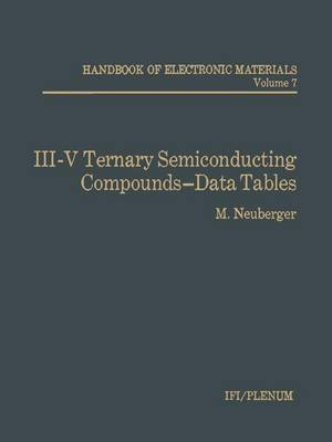 III-V Ternary Semiconducting Compounds-Data Tables