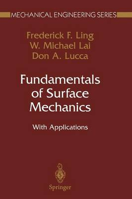 Fundamentals of Surface Mechanics: With Applications
