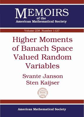 Higher Moments of Banach Space Valued Random Variables