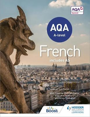 AQA A-level French - Student's book
