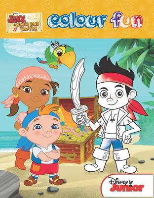 Disney Jake and the Never Land Pirates Colour Fun