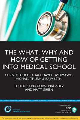 The What, Why & How of Medical School Applications