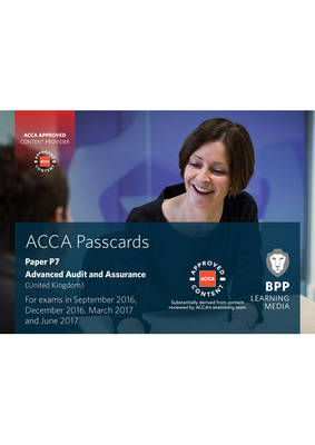 ACCA P7 Advanced Audit and Assurance (UK): Passcards