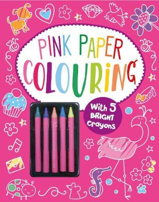 Pink Paper Colouring