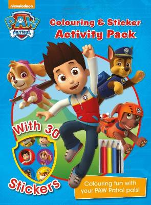 Nickelodeon PAW Patrol Colouring and Sticker Activity Pack