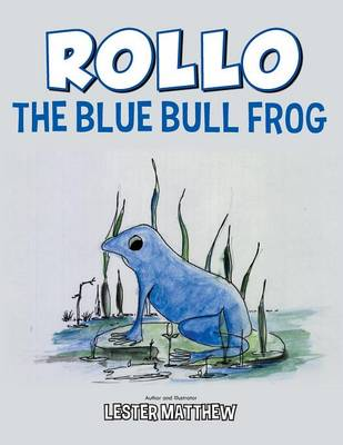 Rollo the Blue Bull Frog