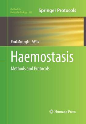 Haemostasis: Methods and Protocols