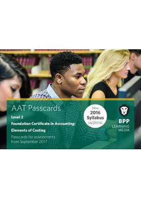 AAT Elements of Costing: Passcards