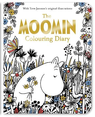 The Moomin Colouring Diary