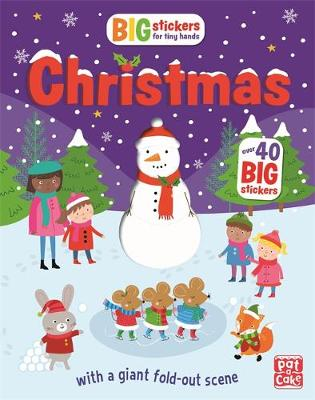 Big Stickers for Tiny Hands: Christmas: With scenes, activities and a giant fold-out picture