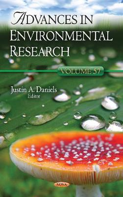 Advances in Environmental Research: Volume 57