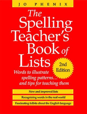 The Spelling Teachers Book of Lists