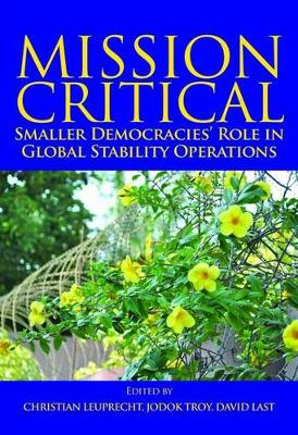 Mission Critical: Smaller Democracies' Role in Global Stability Operations