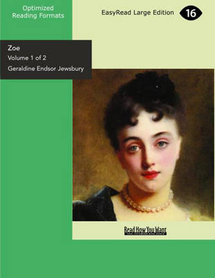 Zoe (2 Volume Set): The History of Two Lives