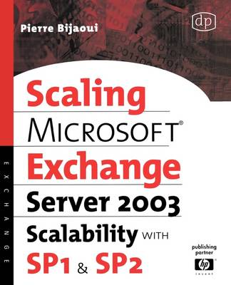 Microsoft� Exchange Server 2003 Scalability with SP1 and SP2