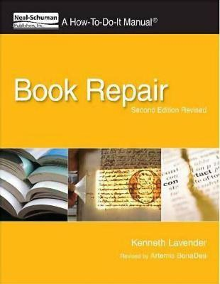 Book Repair: a How-to-do-it Manual
