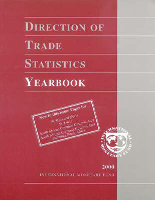 Direction of Trade Statistics Yearbook: 2000