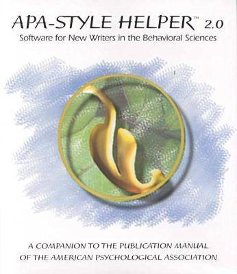 APA-style Helper 2.0: Software for New Writers in the Behavioral Sciences
