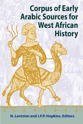 Corpus of Early Arabic Sources for West African History