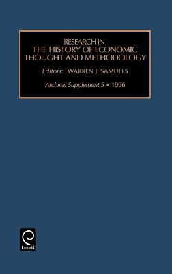 Research in the History of Economic Thought and Methodology