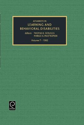 Advances in Learning and Behavioural Disabilities