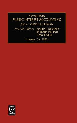Advances in Public Interest Accounting