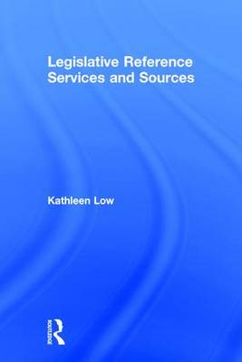Legislative Reference Services and Sources