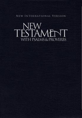 NIV, New Testament with Psalms and   Proverbs, Pocket-Sized, Paperback, Blue