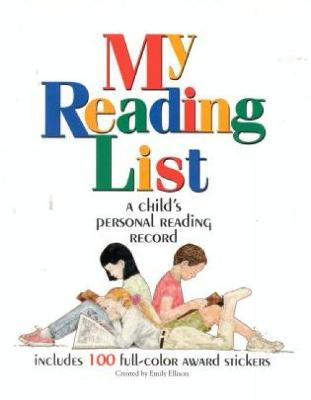 My Reading List: A Child's Personal Reading Record