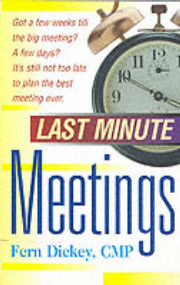 Last Minute Meetings