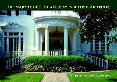 Majesty of St Charles Avenue Postcard Book