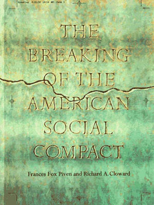 The Breaking of the American Social Contract