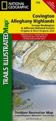 Covington/alleghany Highlands, G.w. & Jefferson National Forests: Trails Illustrated Other Rec. Areas