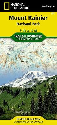 Mount Rainier National Park: Trails Illustrated National Parks